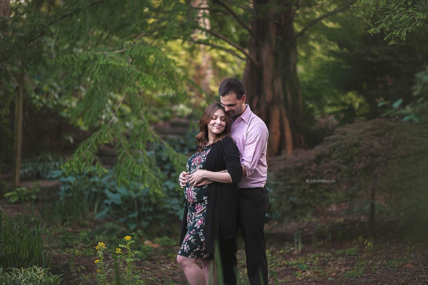 Pregnancy Photo Session Creve Coeur Missouri