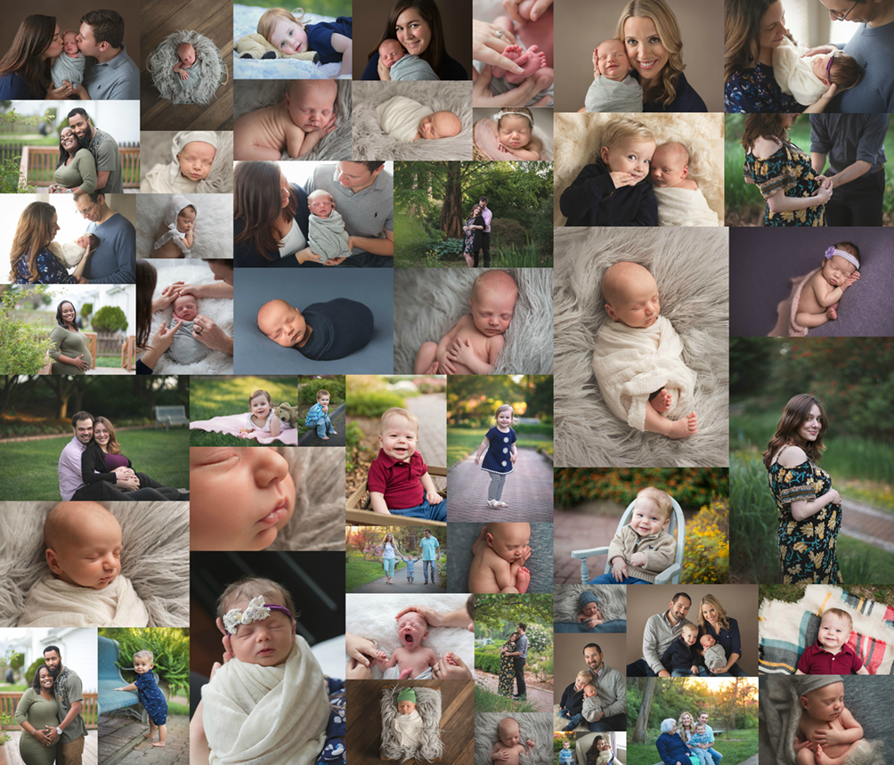 Baby First Year Milestone Photographers St. Louis Portrait Studio